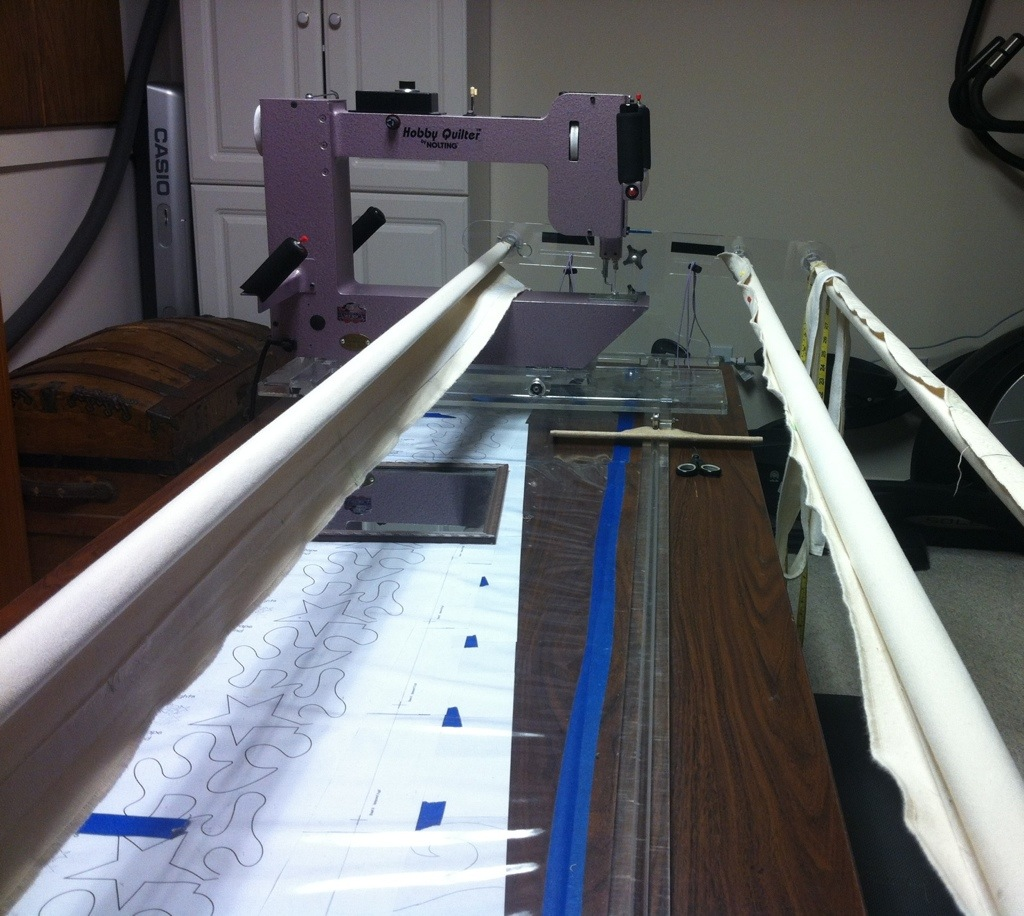 Knitting Machine For Sale Near Me : My machine quilting frame katyquilts