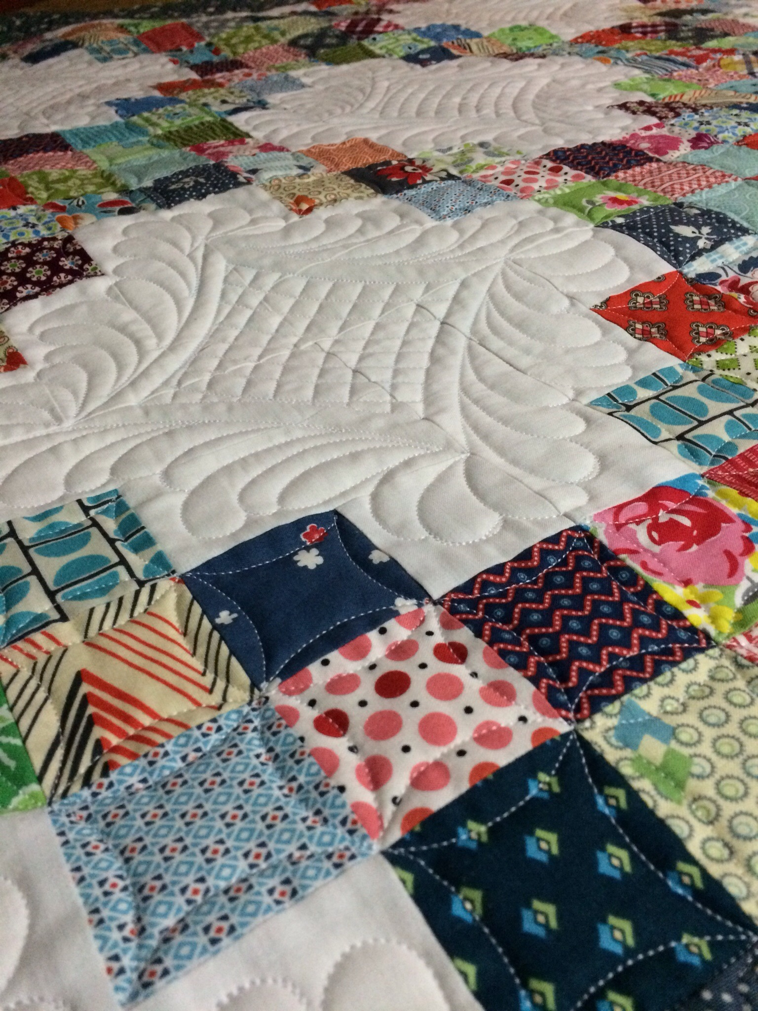 Blogger's Quilt Festival ~ Little Sister Quilt | KatyQuilts : sisters quilt festival - Adamdwight.com