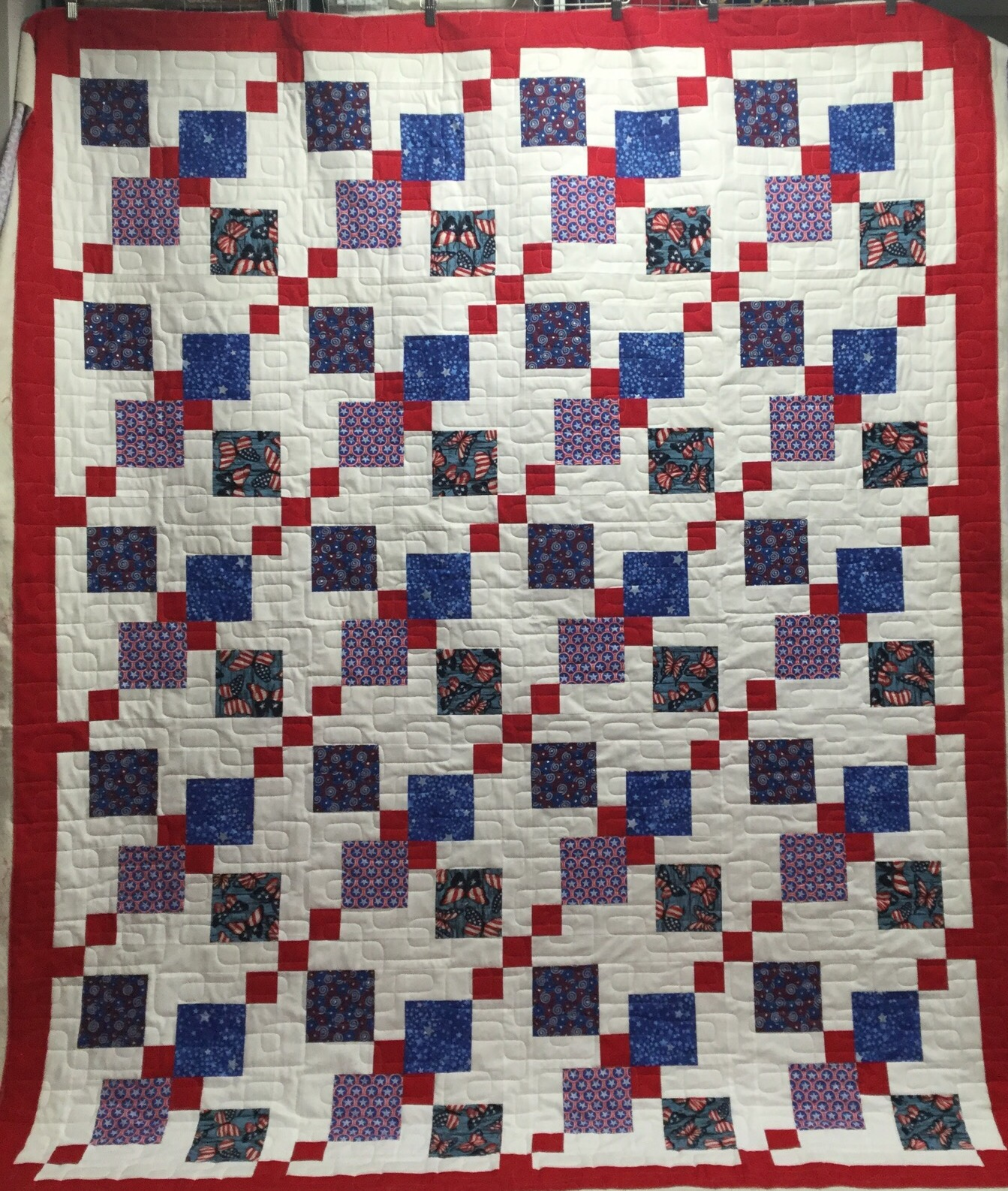 Scrap quilt on Pinterest Scrappy Quilts, Bonnie Hunter and Scraps Quilt