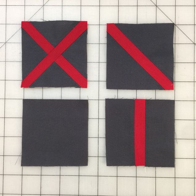 The Directions Said To Press Seams Open I Hate Doing That But This Was My First Block Less Than Stellar Btw The Red Strips Finish At A Half Inch